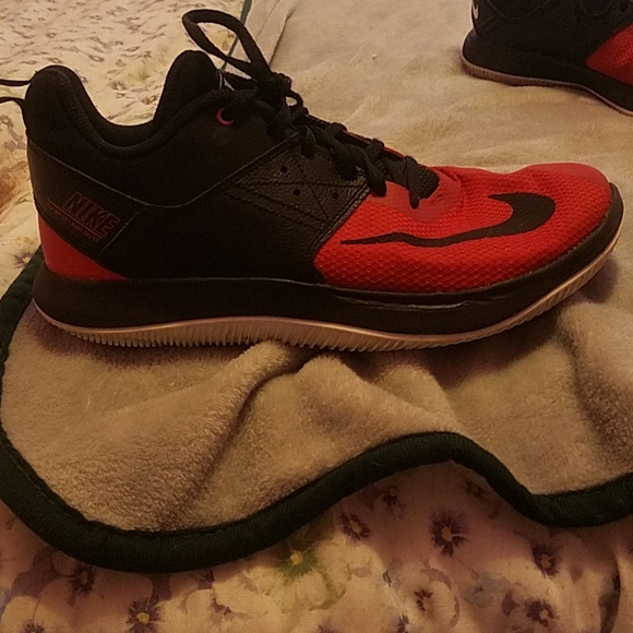 Nike Shoes | Red Fly By High Tops